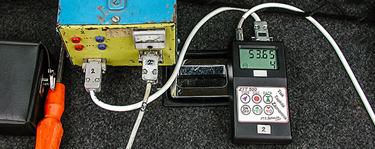 The electronic pressure and temperature recorder of the first generation with an accuracy of 0.05 bar and 0.1 °C